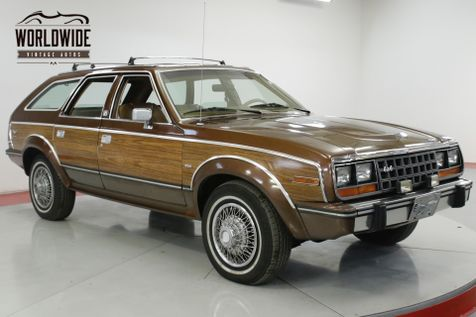 1985 Amc EAGLE WOODY 1 OWNER CA CAR 4x4 RARE COLLECTOR | Denver, CO | Worldwide Vintage Autos in Denver, CO