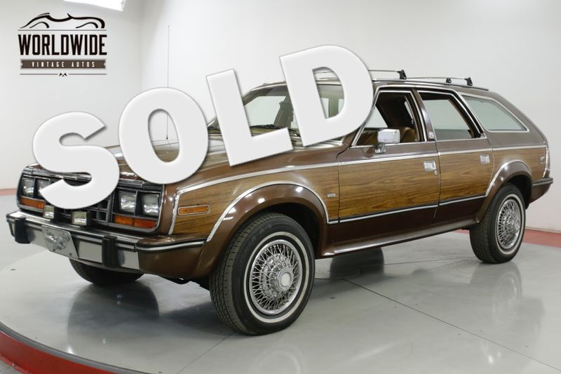 1985 Amc EAGLE WOODY 1 OWNER CA CAR 4x4 RARE COLLECTOR | Denver, CO | Worldwide Vintage Autos
