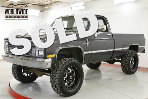 1985 Chevrolet 2500 3/4 TON 383 V8 4x4 $8K PAINT CUSTOM WHEELS   Denver, CO   Worldwide Vintage Autos in Denver, CO