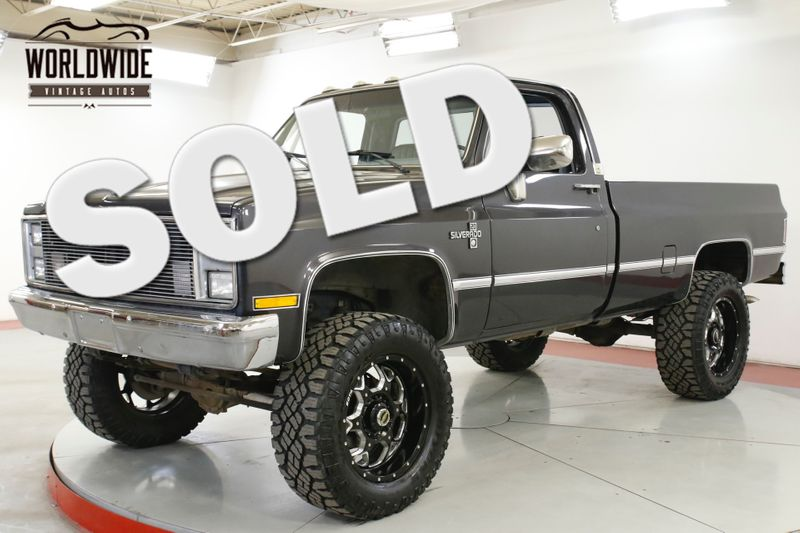 1985 Chevrolet 2500 3/4 TON 383 V8 4x4 $8K PAINT CUSTOM WHEELS   Denver, CO   Worldwide Vintage Autos