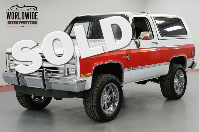 1985 Chevrolet BLAZER RESTORED. LS FUEL INJECTED MOTOR! AC! 4x4! | Denver, CO | Worldwide Vintage Autos