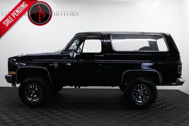 1985 Chevrolet Blazer K5 V8 JET BLACK A/C