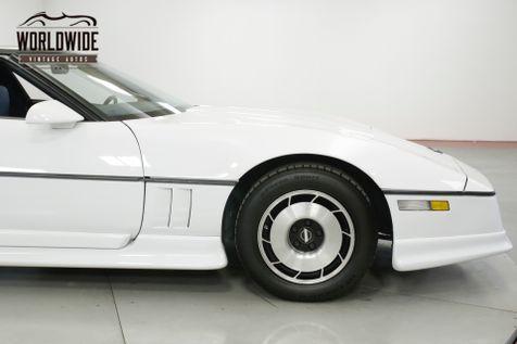 1985 Chevrolet CORVETTE  GREENWOOD EDITION RARE LOW MILES CLEAN AC | Denver, CO | Worldwide Vintage Autos in Denver, CO