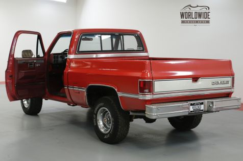 1985 Chevrolet TRUCK K10 SILVERADO. 350 V8. AUTO. PS. PB. PW 4x4  | Denver, CO | Worldwide Vintage Autos in Denver, CO