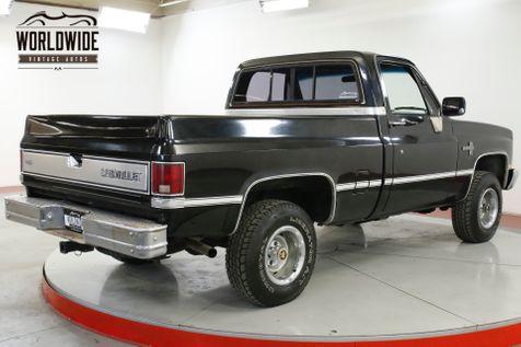 1985 Chevrolet SILVERADO CLEAN AUTOCHECK 305 V8 4X4 SHORTBOX AC  | Denver, CO | Worldwide Vintage Autos in Denver, CO