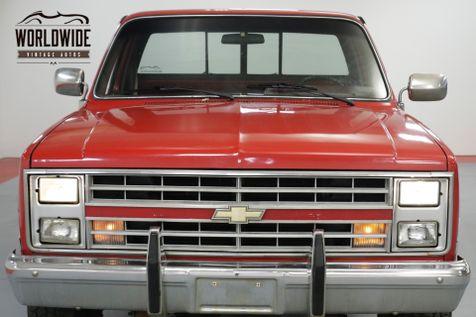 1985 Chevrolet TRUCK K10 SILVERADO. V8. AUTO. PS. PB. PW. PL. 4x4  | Denver, CO | Worldwide Vintage Autos in Denver, CO
