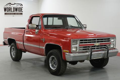 1985 Chevrolet TRUCK K10 SILVERADO. V8. AUTO. PS. PB. PW. PL. 4x4  | Denver, CO | Worldwide Vintage Autos in Denver, CO