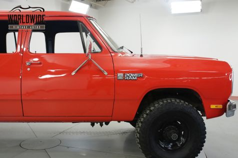 1985 Dodge PICKUP RARE 4 DOOR CREW CAB V8 AUTO PS PB 4X4 | Denver, CO | Worldwide Vintage Autos in Denver, CO