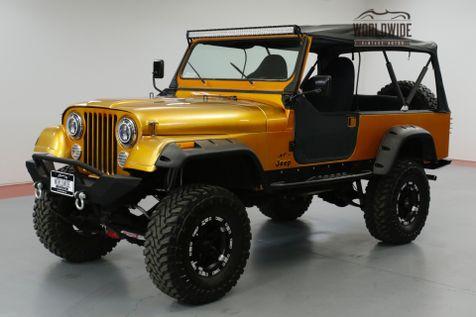1985 Jeep CJ8 SCRAMBLER 4WD FRAME OFF RESTORED. EXTENSIVE BUILD!    Denver, CO   Worldwide Vintage Autos in Denver, CO
