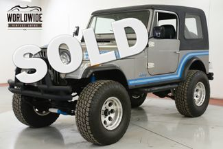 1985 Jeep CJ7  RENEGADE RESTORED COLD AC! V8 PS PB WINCH LIFT 4x4 | Denver, CO | Worldwide Vintage Autos in Denver CO