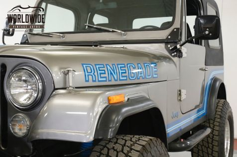 1985 Jeep CJ7  RENEGADE RESTORED COLD AC! V8 PS PB WINCH LIFT 4x4 | Denver, CO | Worldwide Vintage Autos in Denver, CO