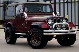 1985 Jeep CJ 4WD * Manual* Rare CJ Jeep*   Plano, TX   Carrick's Autos in Plano TX