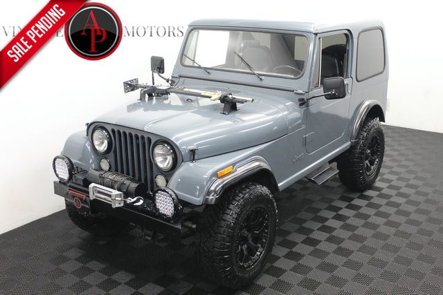 1985 Jeep CJ7 AC RESTORED HARD TOP in Statesville, NC 28677