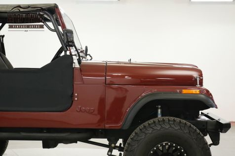 1985 Jeep CJ7  EXTENSIVE RESTORATION FUEL INJECTED 4X4  | Denver, CO | Worldwide Vintage Autos in Denver, CO