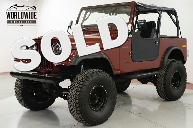 1985 Jeep CJ7  EXTENSIVE RESTORATION FUEL INJECTED 4X4  | Denver, CO | Worldwide Vintage Autos