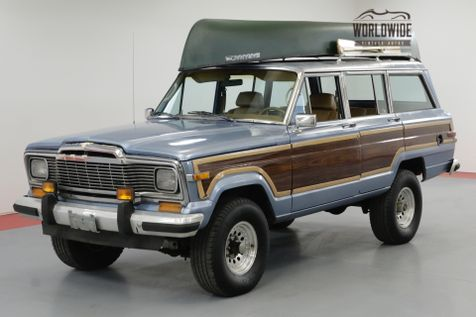 1985 Jeep GRAND WAGONEER TAN LEATHER V8 4X4 FACTORY LUGGAGE RACK | Denver, CO | Worldwide Vintage Autos in Denver, CO