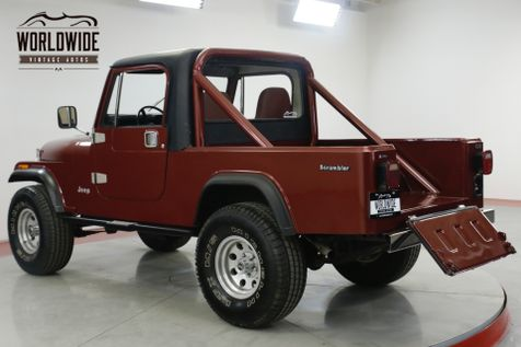 1985 Jeep SCRAMLER  CJ8. FRAME OFF RESTORED JASPER CRATE CJ7 CJ5  | Denver, CO | Worldwide Vintage Autos in Denver, CO