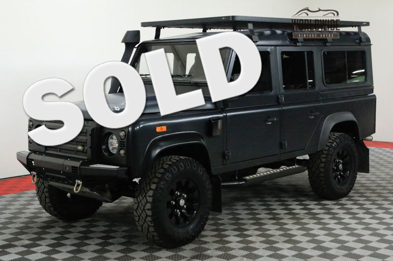 1985 Land Rover DEFENDER 110 HIGH DOLLAR BUILD TURBO DIESEL | Denver, CO | Worldwide Vintage Autos