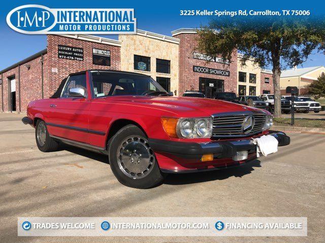 1985 Mercedes-Benz 380 Series 380SL in Carrollton, TX 75006