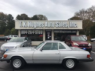 1985 Mercedes-Benz 380SL Convertible in Richmond, VA, VA 23227