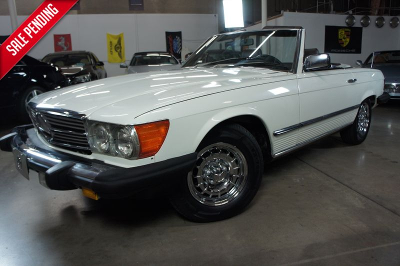 1985 Mercedes Benz 380SL Roadster | Tempe, AZ | ICONIC MOTORCARS, Inc. in Tempe AZ