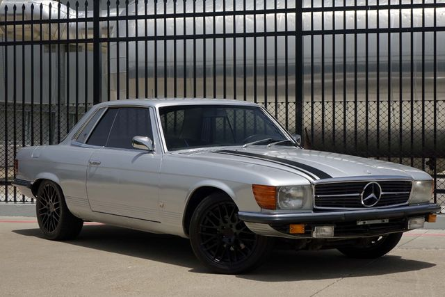 1973 Mercedes Benz 450 SLC Coupe * COLD A/C * Custom Wheels * RIDES & DRIVES! Plano, Texas