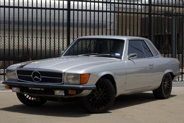 1973 Mercedes Benz 450 SLC Coupe * COLD A/C * Custom Wheels * RIDES & DRIVES! Plano, Texas 1