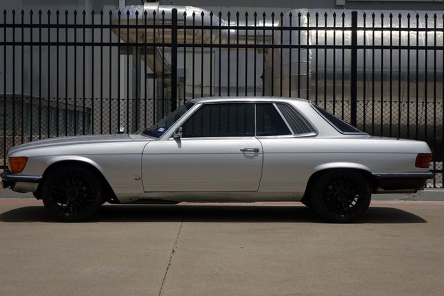 1973 Mercedes Benz 450 SLC Coupe * COLD A/C * Custom Wheels * RIDES & DRIVES! Plano, Texas 3