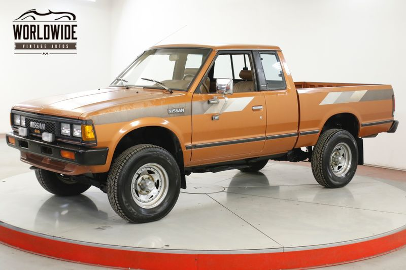 1985 Nissan KING CAB 1 OWNER TRUCK COLLECTOR 4x4 LOW MILES COLD AC | Denver, CO | Worldwide Vintage Autos