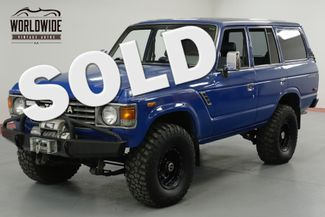 1985 Toyota FJ60 TOYOTA FJ 60 4 ON THE FLOOR LAND CRUISER  | Denver, CO | Worldwide Vintage Autos in Denver CO