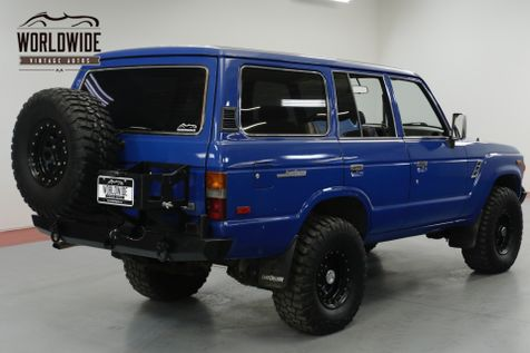 1985 Toyota FJ60 TOYOTA FJ 60 4 ON THE FLOOR LAND CRUISER  | Denver, CO | Worldwide Vintage Autos in Denver, CO
