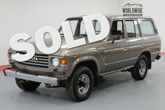 1985 Toyota LAND CRUISER FJ60. 1 OWNER! 48K ORIGINAL MILES! COLLECTOR | Denver, CO | Worldwide Vintage Autos in Denver CO
