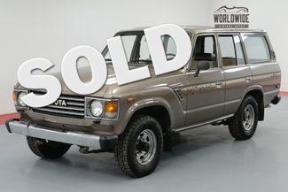 1985 Toyota LAND CRUISER FJ60. 1 OWNER! 48K ORIGINAL MILES! COLLECTOR | Denver, CO | Worldwide Vintage Autos in Denver CO