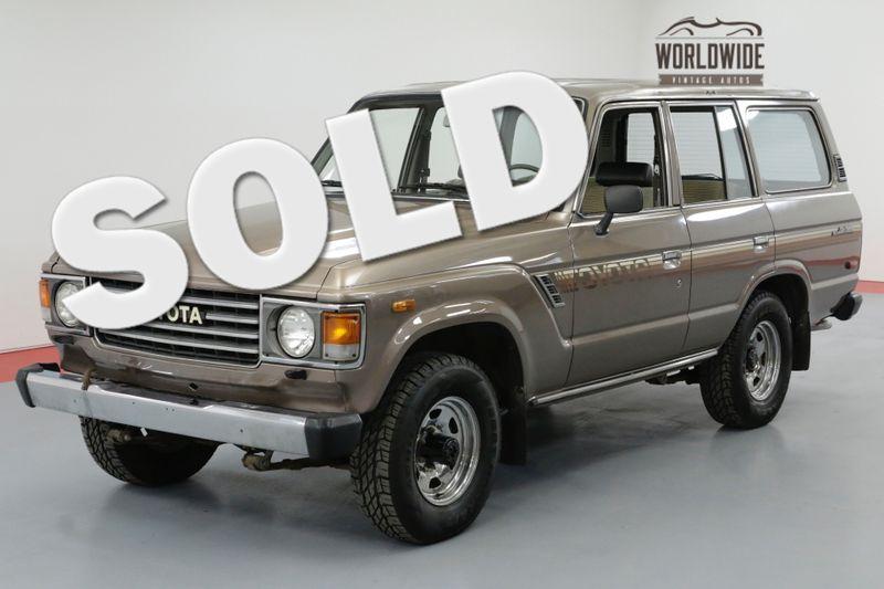 1985 Toyota LAND CRUISER FJ60. 1 OWNER! 48K ORIGINAL MILES! COLLECTOR | Denver, CO | Worldwide Vintage Autos