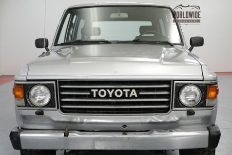 1985 Toyota LAND CRUISER ORIGINAL!  EXTREMELY CLEAN 4X4 MUST SEE! | Denver, CO | Worldwide Vintage Autos in Denver, CO