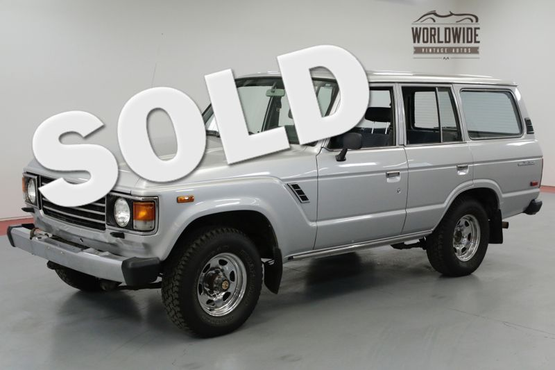 1985 Toyota LAND CRUISER ORIGINAL! EXTREMELY CLEAN 4X4 MUST SEE! | Denver, CO | Worldwide Vintage Autos