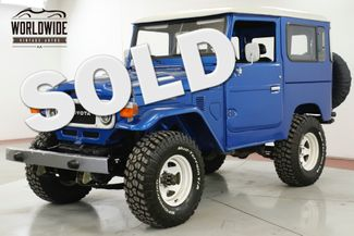 1985 Toyota LAND CRUISER  FJ40 EXTENSIVE FRAME OFF RESTORED AC! PS PB | Denver, CO | Worldwide Vintage Autos in Denver CO