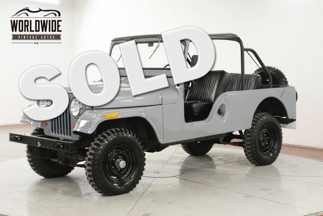 1961 Jeep WILLYS CJ6. RESTORED. $30K INVESTED RARE 4x4 CJ5 CJ7 | Denver, CO | Worldwide Vintage Autos in Denver CO