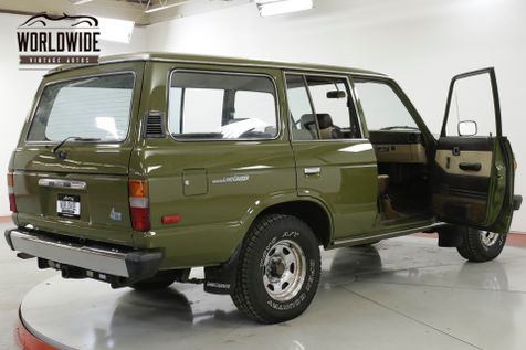 1985 Toyota LAND CRUISER FJ60 COLLECTOR ORIGINAL LOW MILES PS PB | Denver, CO | Worldwide Vintage Autos in Denver, CO