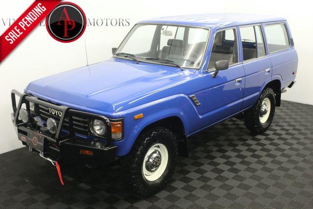 1985 Toyota Land Cruiser FJ60 154K 4WD