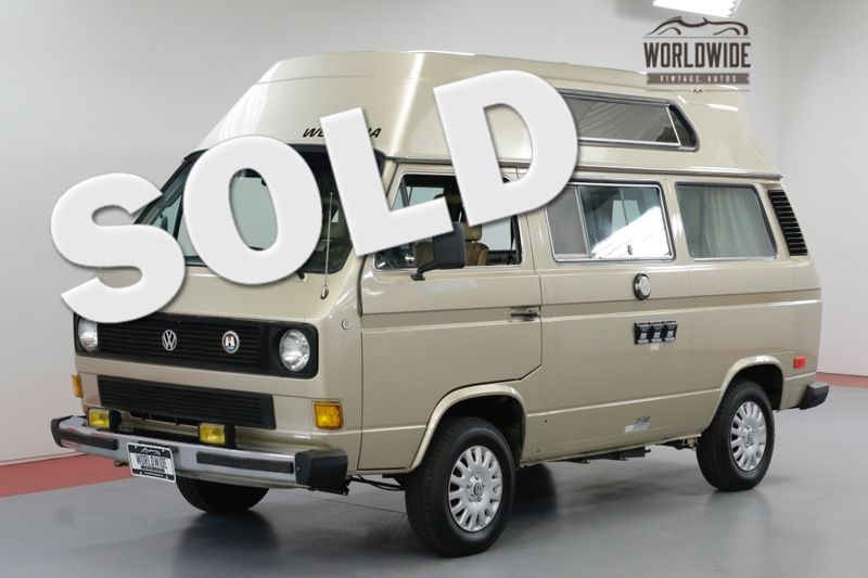 1985 Volkswagen VANOGAN WOLFSBURG WESTFALIA CAMPMOBILE EDITION   Denver, CO   Worldwide Vintage Autos