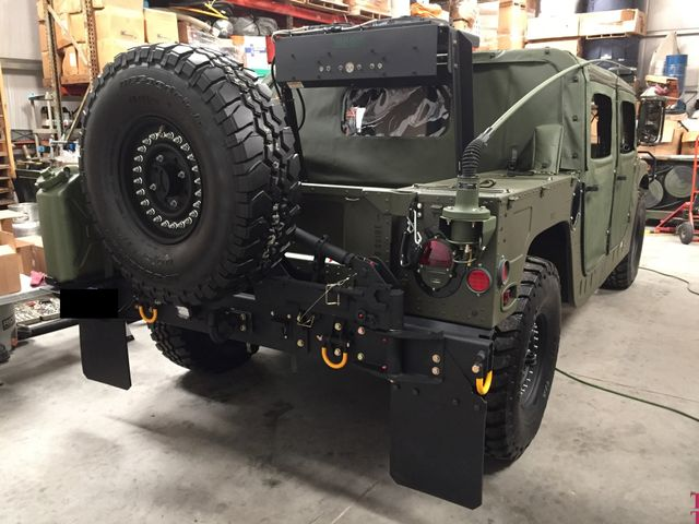 1986 A M General Hummer Humvee  M998 Full Restorations   This Hummer like new. San Diego, California 49