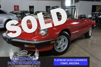 1986 Alfa Romeo Spider Veloce | Tempe, AZ | ICONIC MOTORCARS, Inc. in Tempe AZ