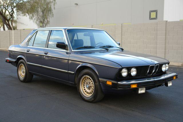 1986 BMW 5 Series 528e