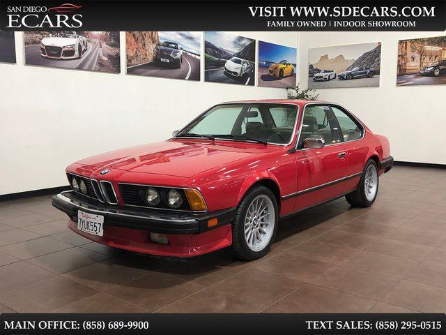 1986 BMW 6 Series