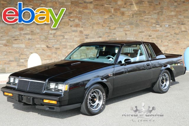 1986 Buick Grand National 9k ACTUAL MILES TIME CAPSULE COLLECTOR MINT TURBO