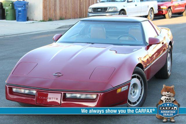 1986 Chevrolet CORVETTE 4-SPEED MANUAL