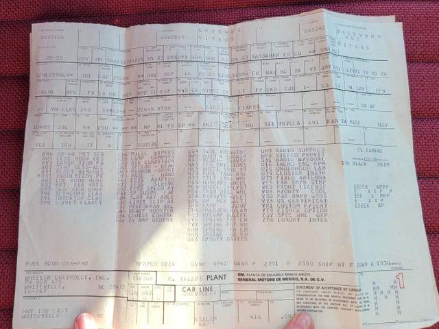 1986 Chevrolet El Camino SS Choo Choo Customs in Hope Mills, NC 28348
