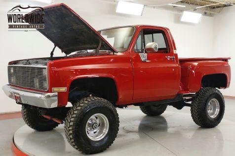 1986 Chevrolet PICKUP C10/K10 1 OWNER RESTORED CUSTOM 4X4 V8 LIFT | Denver, CO | Worldwide Vintage Autos in Denver, CO