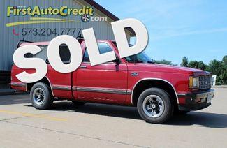 1986 Chevrolet S-10 EL in Jackson MO, 63755